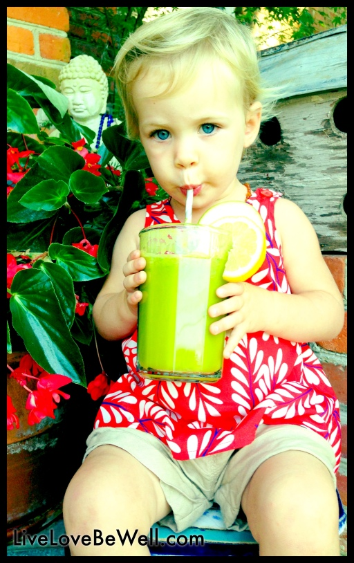 How old were you when you  had your first fresh juiced kale?