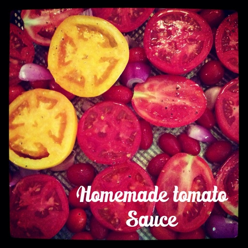 So easy to make your own tomato sauce..... Organic, local and Coastal Chiropractic Style...