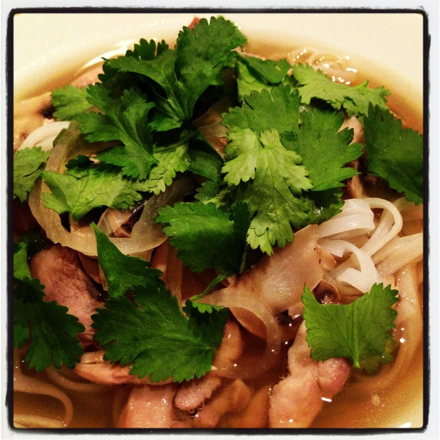 Food made with love tastes so much better… Pho like a king :)