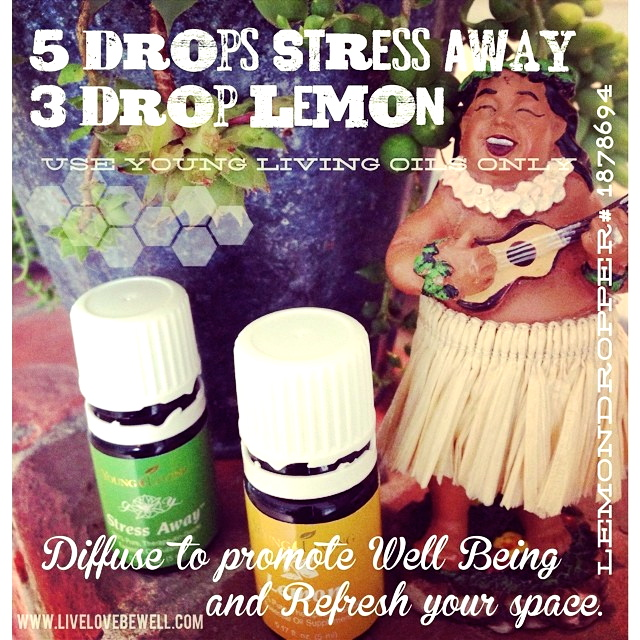 Having a stressful day? This is a great recipe for your diffuser.